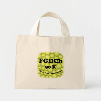 Mini Tote Bag FGDCh 90 K, champion grand de Flyball, 90.000