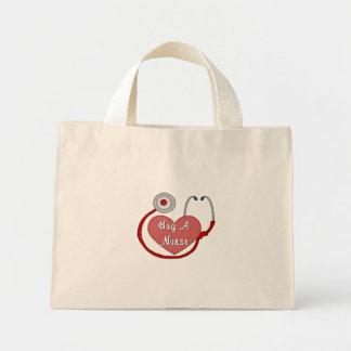 Mini Tote Bag Fierté d'infirmières