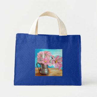 Mini Tote Bag Fleurs dans une cruche Fourre-tout