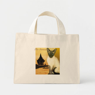 Mini Tote Bag Le siamois