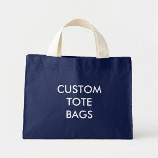 Mini Tote Bag Modèle vide minuscule de Fourre-tout personnalisé