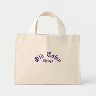 Mini Tote Bag Vieille ville Fourre-tout minuscule