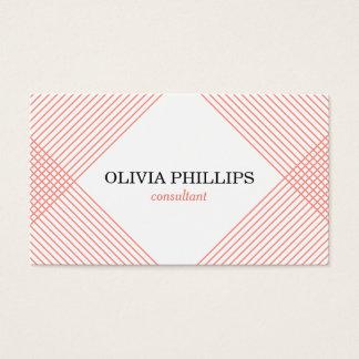 Minimalistisch visitekaartje visitekaartjes