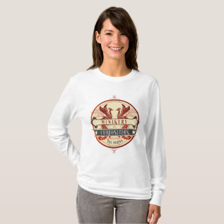 Ministère de long T-shirt de douille de curiosités