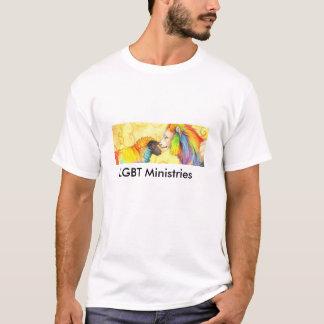 Ministères faits sur commande du T-shirt LGBT de