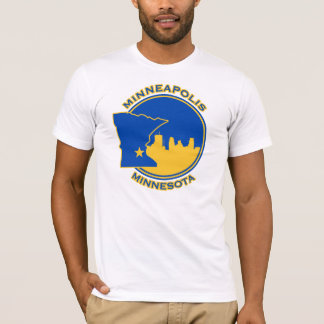 Minneapolis d'or t-shirt