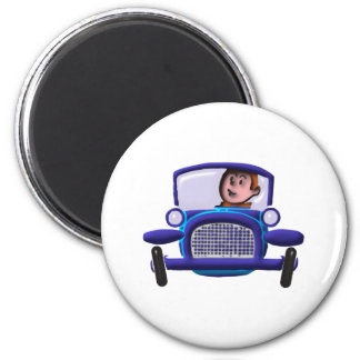 Minuterie d'Old voiture car Magnets Pour Réfrigérateur