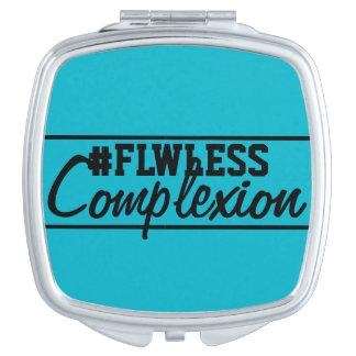 Miroir compact assorti de Flwless