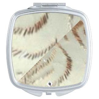 Miroir compact carré