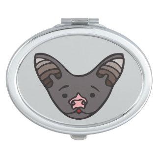 Miroir compact de batte