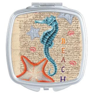 Miroir Compact Hippocampe minable