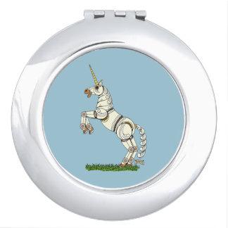 Miroir Compact Licorne mécanique