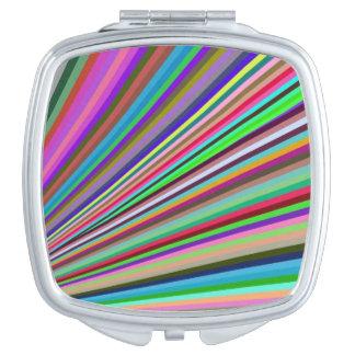 Miroir de contrat de carré d'éclat de rayon
