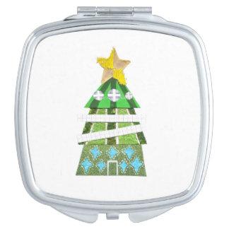 Miroir de contrat d'hôtel d'arbre de Noël