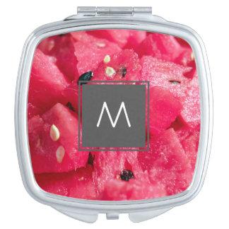 Miroir De Poche photo fruitée fraîche de salade coupée en tranches