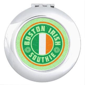 Miroir De Voyage Contrat irlandais de Southie d'Américain de Boston