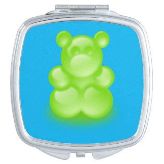 Miroir gommeux de contrat d'ours