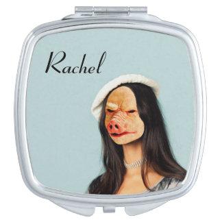 """Miroir nommé de visage de porc de """"Rachel"""""""