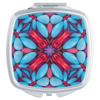 Miroir vintage de contrat de kaléidoscope de