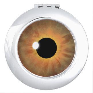 Miroirs compacts ronds de globe oculaire de cool