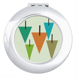 Miroirs d'art contemporain d'arbre pour le