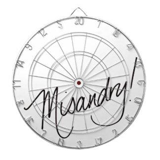 Misandry ! jeu de fléchettes