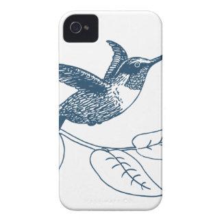 Miscellaneous - Blue Vintage: Colibri Étuis iPhone 4