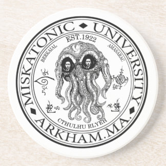 Miskatonic Universitaire CTHULHU HP LOVECRAFT Zandsteen Onderzetter