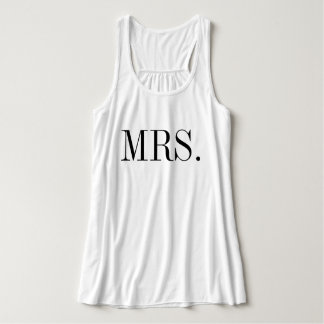 Mme chemise de mariage de jeune mariée débardeur