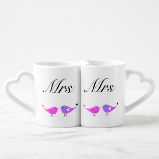 MME et MME perruches Mug
