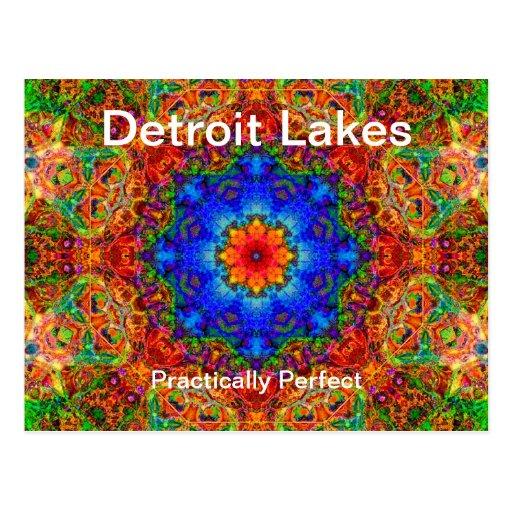 Mn van de Meren van Detroit - praktisch Perfecte # Wens Kaarten