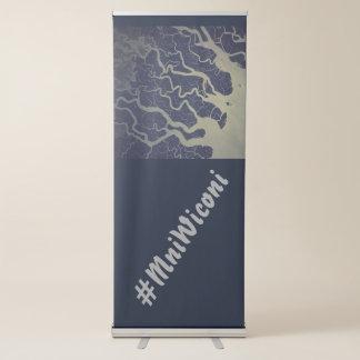 #MniWiconi van de Rivier ~ van India Ganges Roll-up Banner