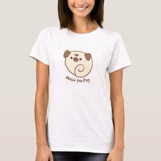 Mochi la chemise des femmes de carlin t-shirt
