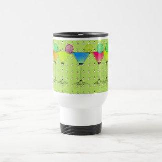 Mod-Elegant-Martini-Lime_Crocus-Garden-Floral Mug De Voyage