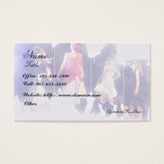 Mode/concepteur d'habillement cartes de visite