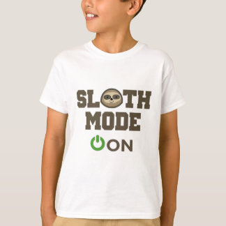 Mode de paresse dessus t-shirt