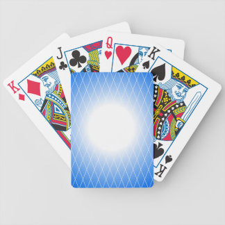 Modèle bleu jeu de cartes