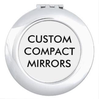 Modèle compact de blanc de miroir personnalisé par