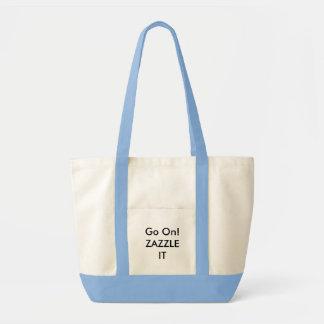 Modèle de blanc de sac fourre-tout à 2-Ton