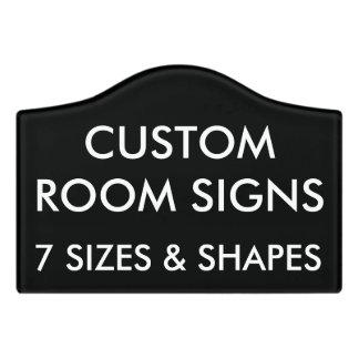 Modèle de blanc de signe de pièce personnalisé par