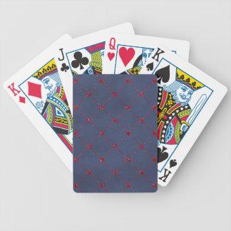 Modèle de carte de bicyclette - customisé jeu de cartes