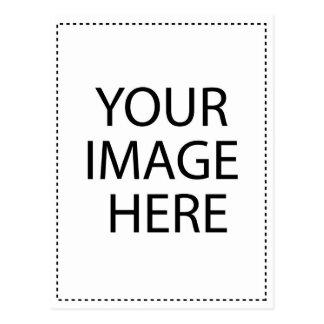 Modèle de verticale de carte postale