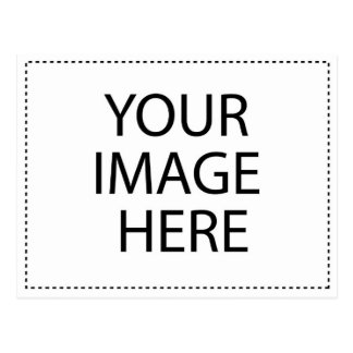 Modèle horizontal de carte postale