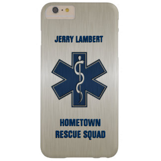Modèle nommé de luxe d'infirmier coque iPhone 6 plus barely there
