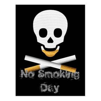 Modèle non-fumeurs de carte postale de jour