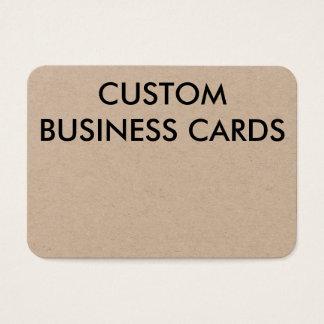 Modèle vide de cartes de visite personnalisé par