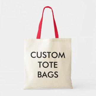 Modèle vide de Fourre-tout de budget personnalisé Tote Bag
