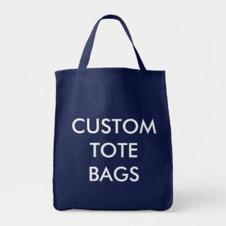 Modèle vide de Fourre-tout d'épicerie personnalisé Tote Bag
