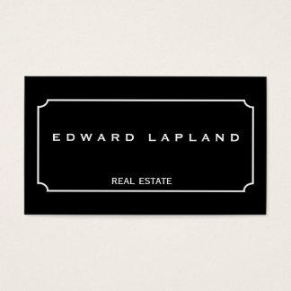 Modern minimalistisch elegant visitekaartje visitekaartjes