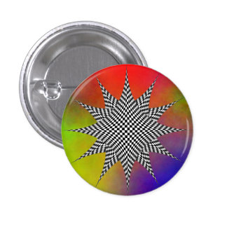 Modern Plasma door Kenneth Yoncich Ronde Button 3,2 Cm